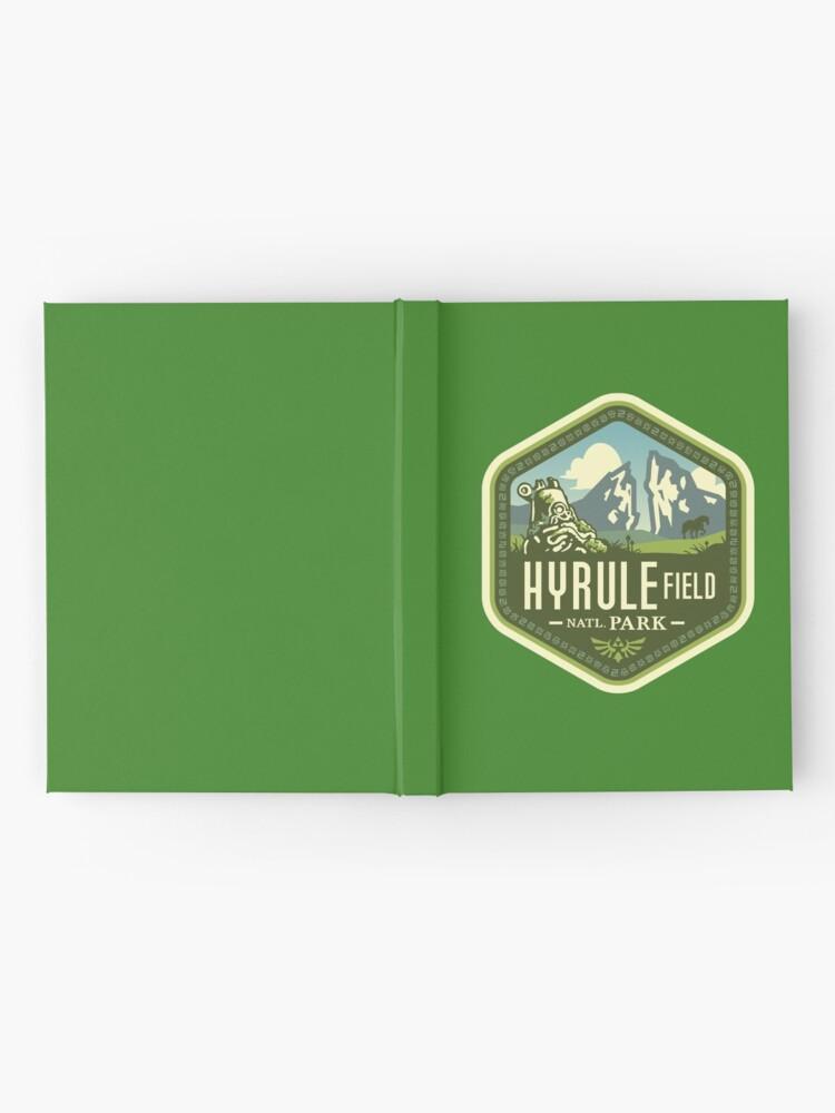 Alternate view of Hyrule National Park Hardcover Journal