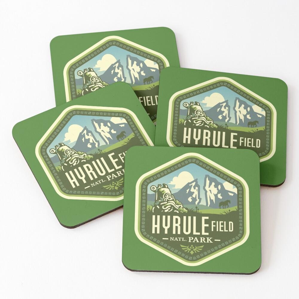Hyrule National Park Coasters (Set of 4)