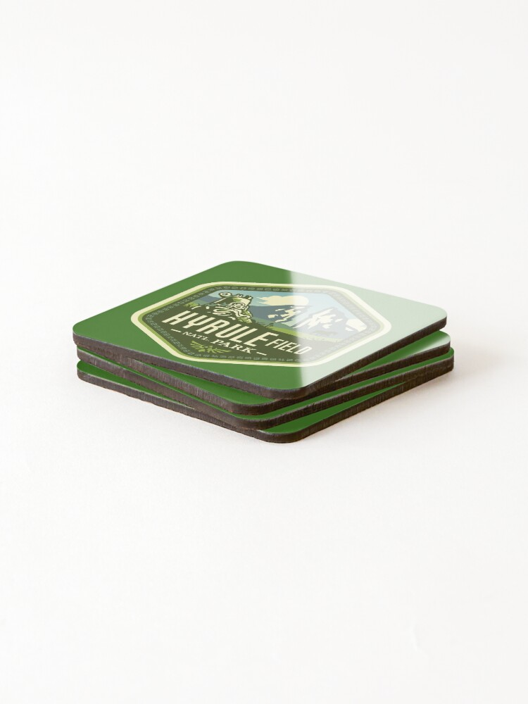 Alternate view of Hyrule National Park Coasters (Set of 4)