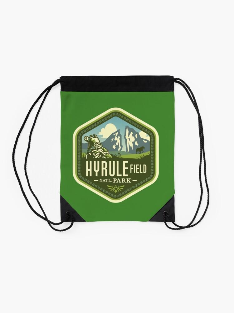 Alternate view of Hyrule National Park Drawstring Bag