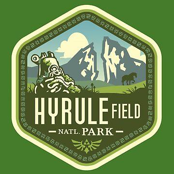 Parque Nacional Hyrule de knightsofloam