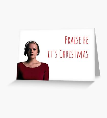 El Cuento de la criada, Serie de TV, June Osborne, Elisabeth Moss, Cool, Crazy, Dark, Quote, Gifts, Presents, Funny Christmas cards, Sticker packs Tarjeta de felicitación