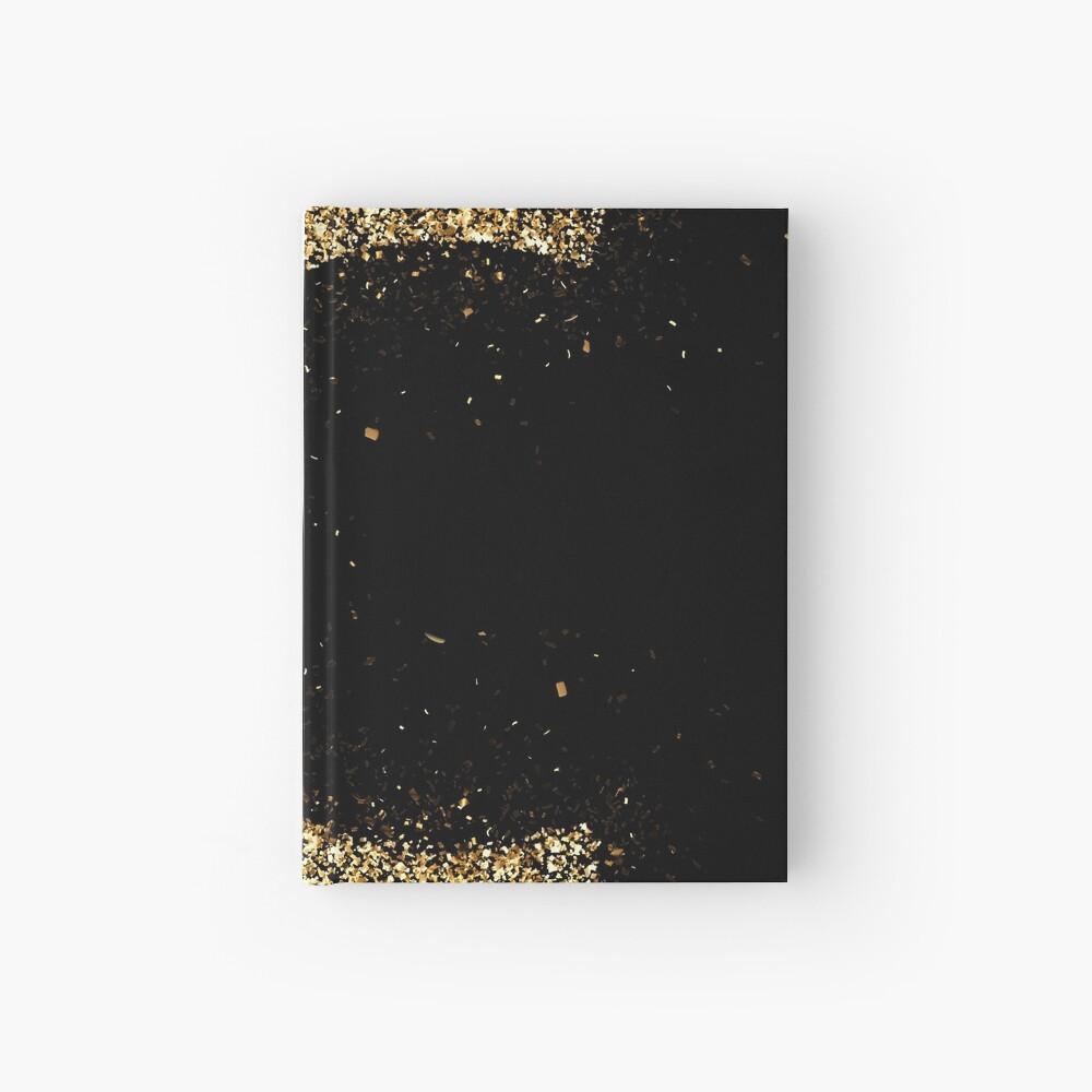 Letters abc wood golden ornament Gold Cuaderno de tapa dura