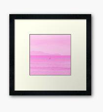 Pink Ocean Framed Print