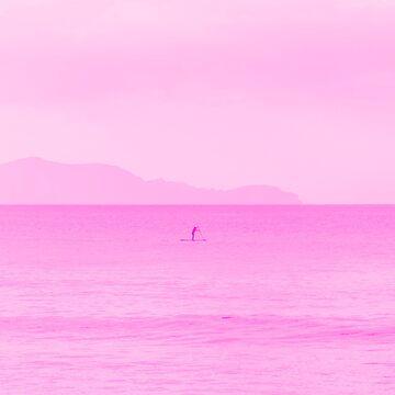 Pink Ocean by nickjaykdesign