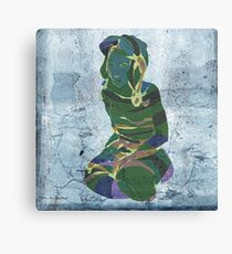 woman in the storm 2 Canvas Print