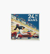 Vintage - 24 Hours of Le Mans (24 H du Mons) Art Board