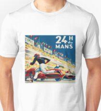 Vintage - 24 Hours of Le Mans (24 H du Mons) Slim Fit T-Shirt