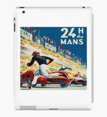 Vintage - 24 Hours of Le Mans (24 H du Mons) iPad Case/Skin