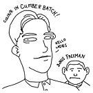 Colour in Cumberbatch! Bonus Freeman. by Smallbrainfield