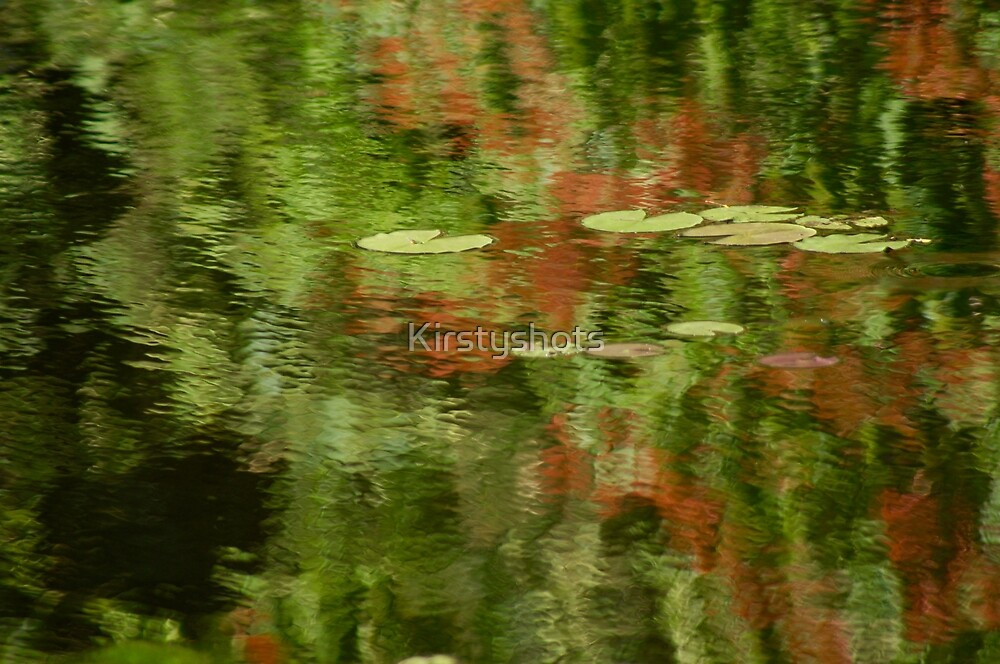 On Painted Pond by Kirstyshots