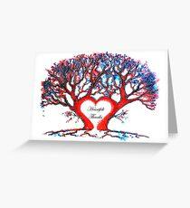 Heartfelt Thanks - Tree Greeting Card