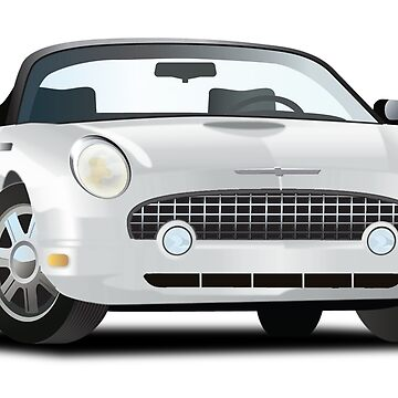 2002-2005 Ford Thunderbird White by azoid