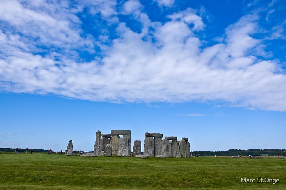 Sky Over Stonehenge by Marc St.Onge