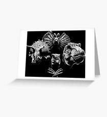 Jurassic Rhapsody Greeting Card