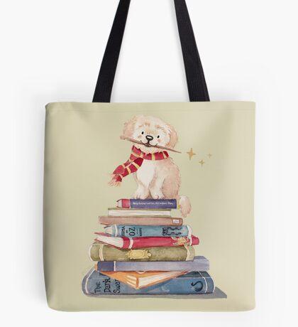 Gryffindog Tote Bag