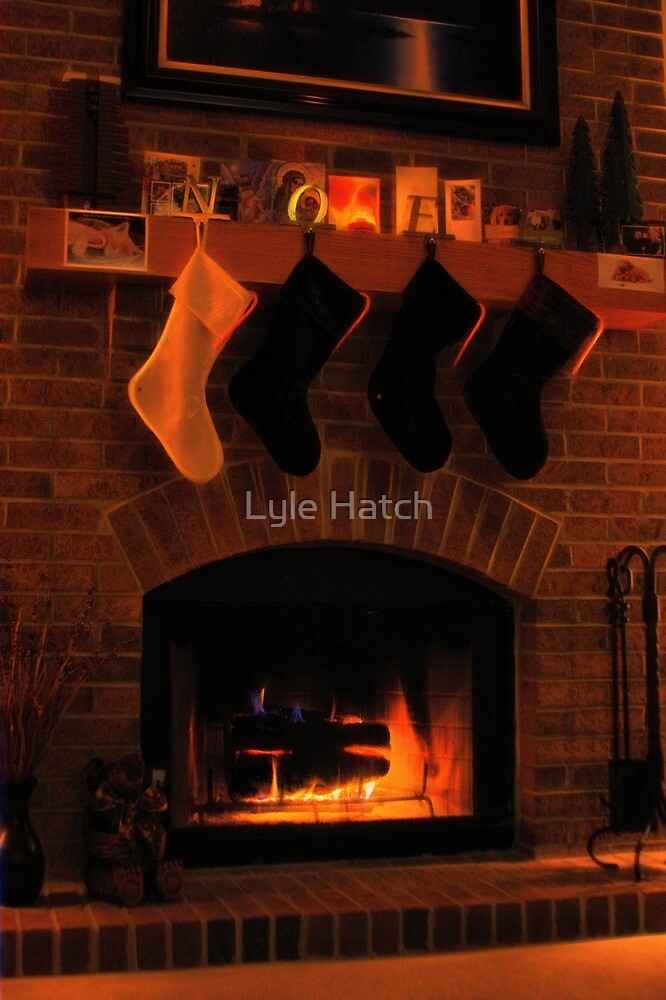 'Twas the Night Before Christmas by Lyle Hatch