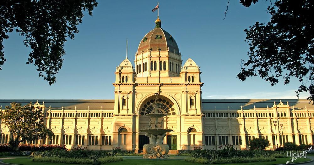 Royal Exhibition Buiding, Melbourne by Hicksy