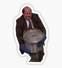 Kevin Spills his Chili The Office Sticker