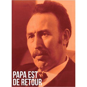 Houari Boumediene: Papa Est De Retour - Lcrim Shirt by drakouv