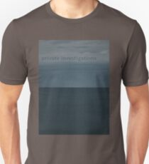 Private Investigations Unisex T-Shirt
