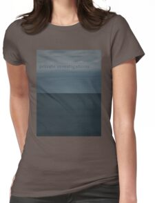 Private Investigations Womens Fitted T-Shirt