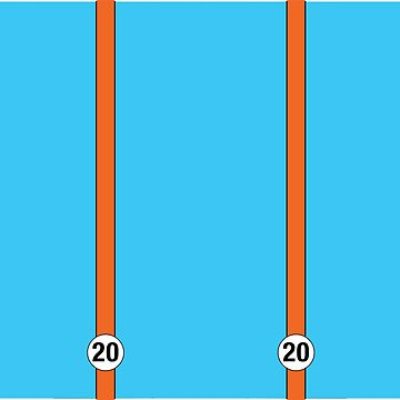 Gulf Porsche Stripes 20 by azoid