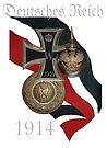 German Battle Symbols of the First World War by edsimoneit