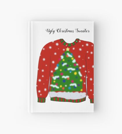 Ugly Christmas Sweater Hardcover Journal