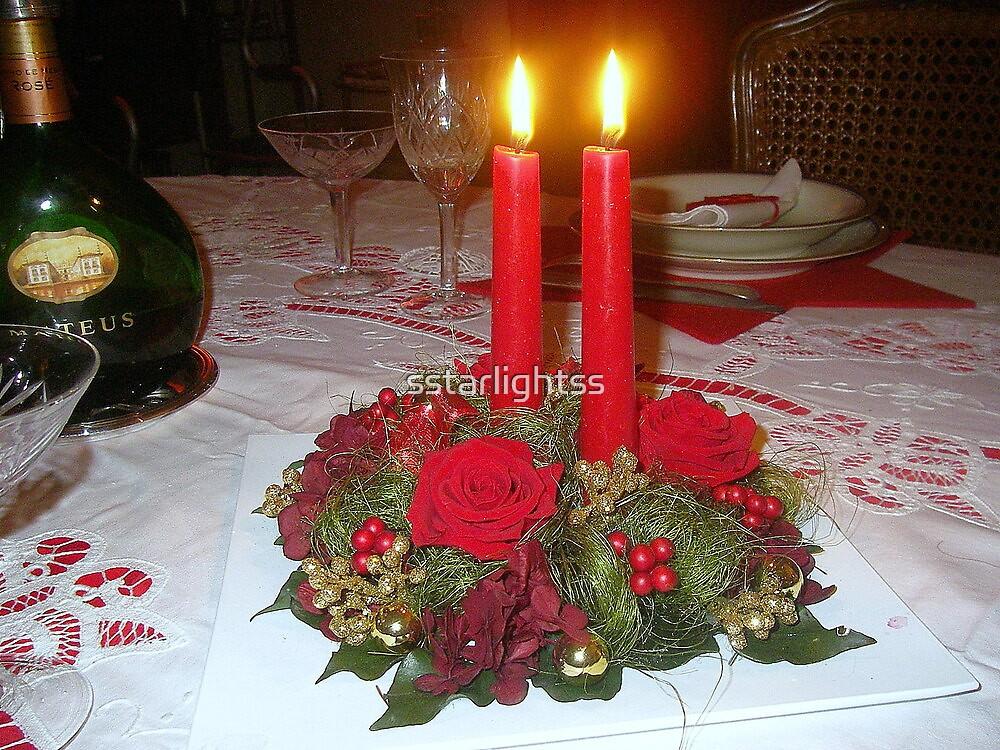 Christmas Eve Dinner by sstarlightss