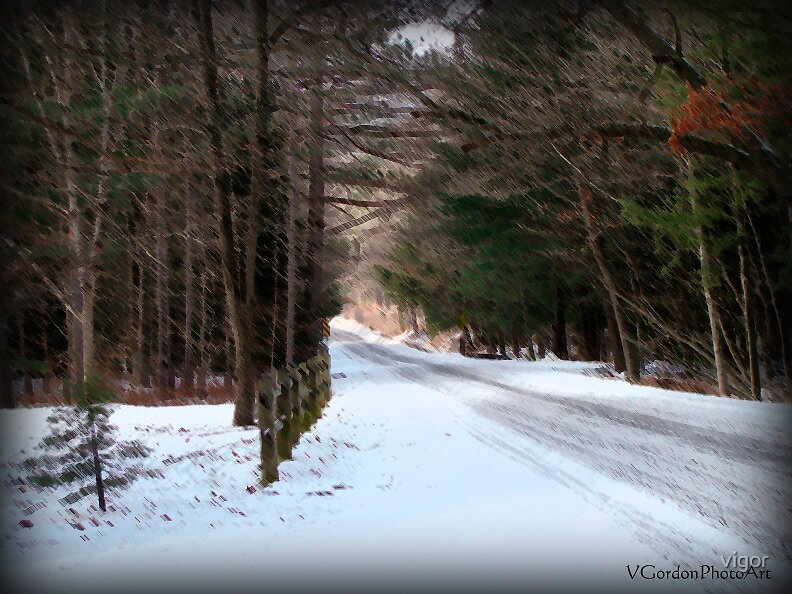 Down a Country Road (After) by vigor