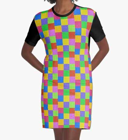 Deep Dreaming of a Color World 2K 2 Graphic T-Shirt Dress