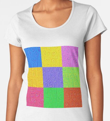 Deep Dreaming of a Color World 2K 2 Women's Premium T-Shirt