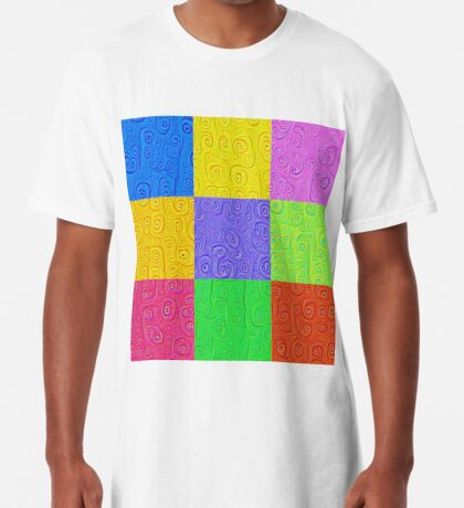 Deep Dreaming of a Color World 2K 2 Long T-Shirt