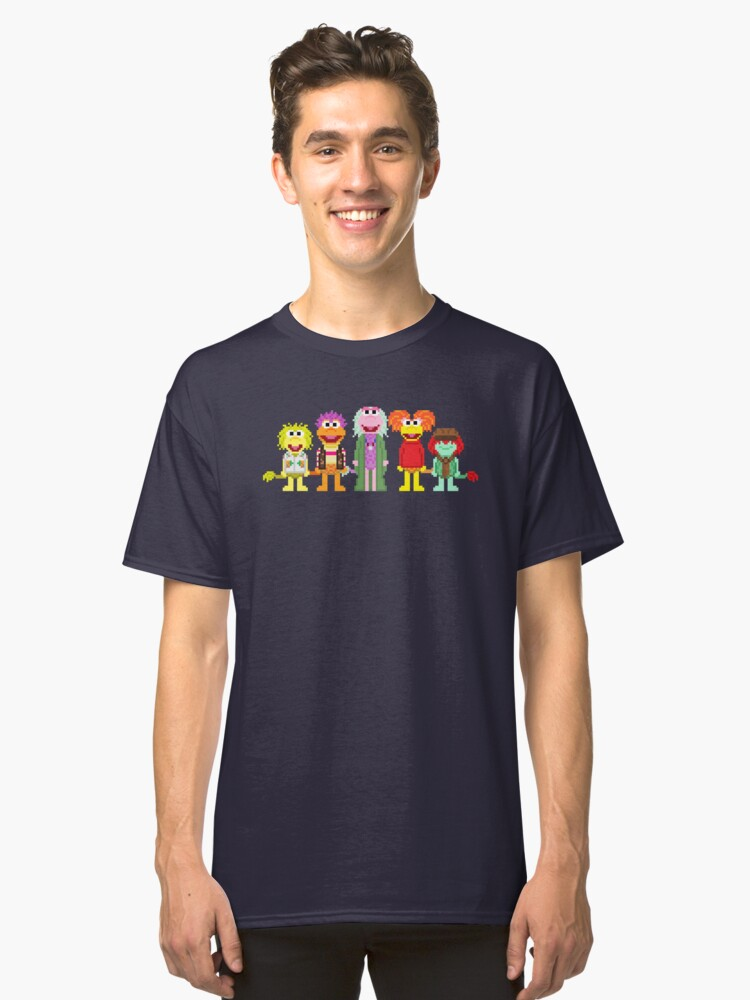 Alternate view of 8-Bit Rock Classic T-Shirt