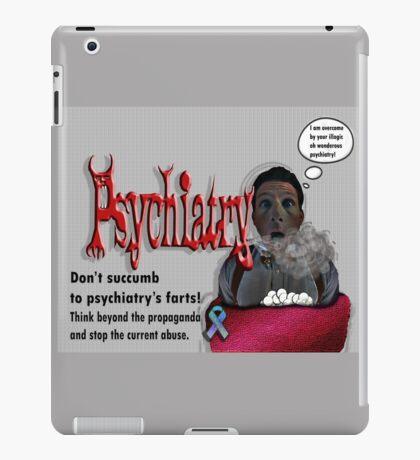 Psychiatry's farts iPad Case/Skin