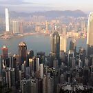 Hong Kong from the Peak by Gillian Anderson LAPS, AFIAP