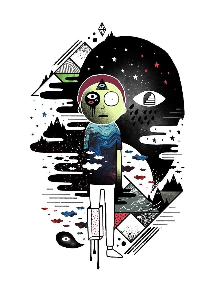 Inner Dimensional Morty by Kevin  Keller