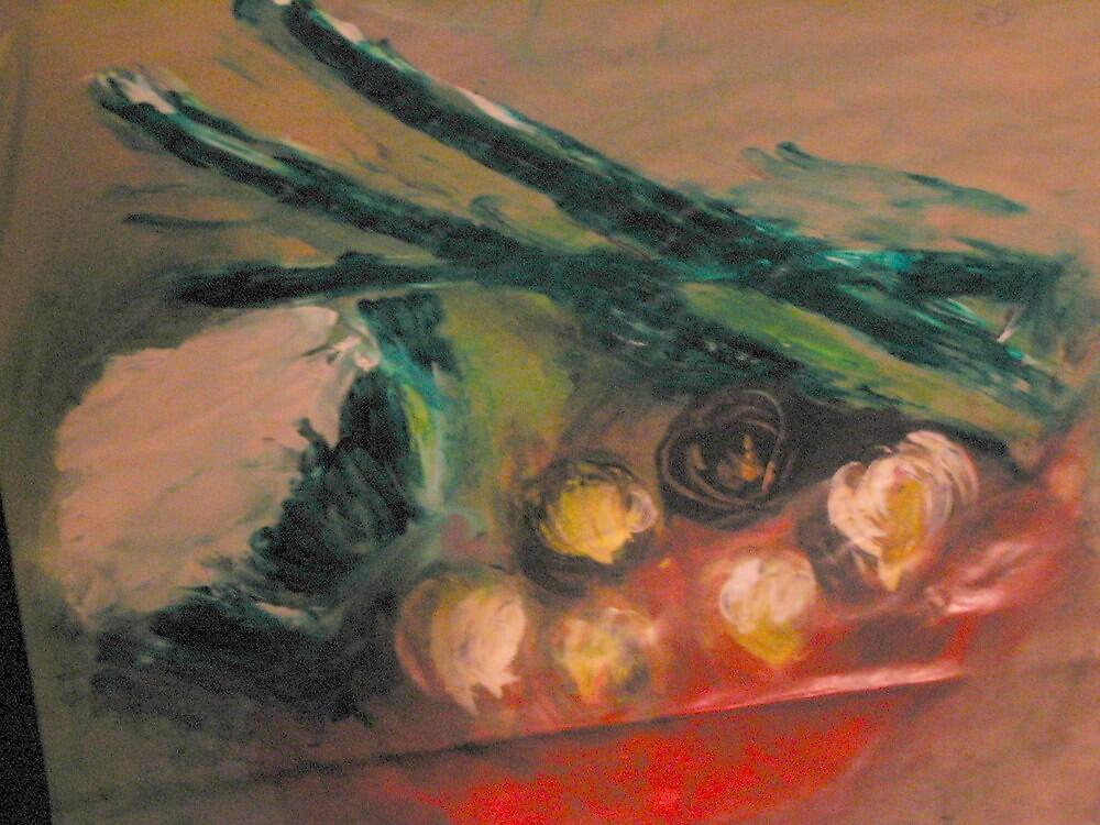 Still Life Vegetables by Gail McMaster