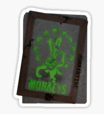 12 Monkeys Dark Sticker