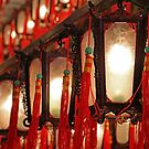 Lanterns at Man Mo Temple, HK.  by Gillian Anderson LAPS, AFIAP