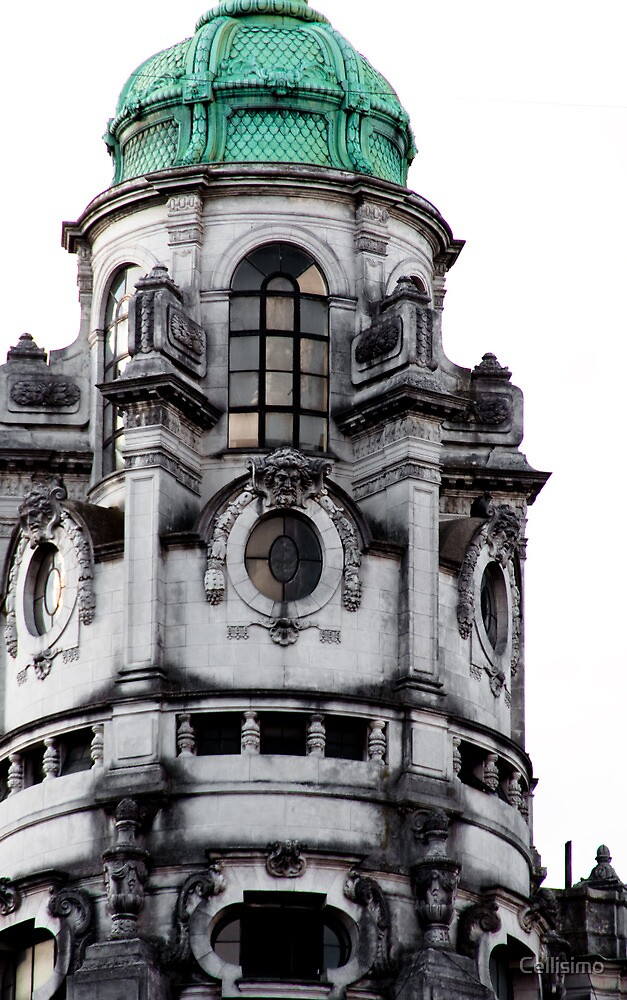 Buenos Aires Old Building by Cellisimo