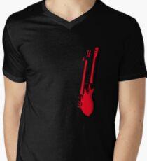 guitar Men's V-Neck T-Shirt