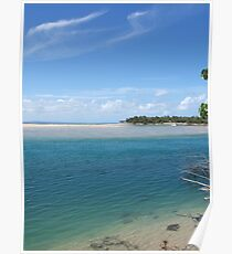 Noosa river enters the Laguna bay over a dangerous sand bar Poster