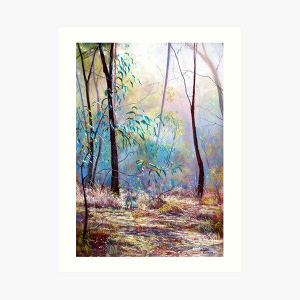 'Wickham Mist 2' Art Print