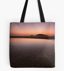 Moon on the flats Tote Bag
