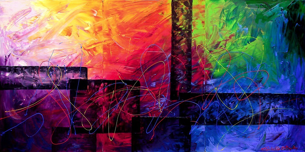 The Illusions at the Bottom by Abstract D'Oyley