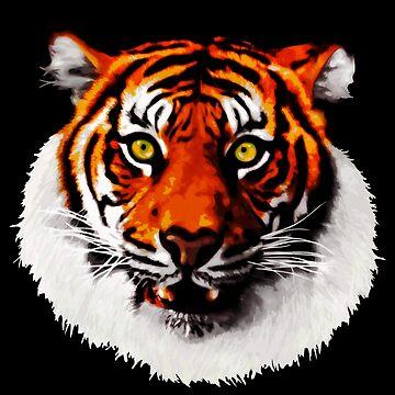 Sumatran Tiger by bexish