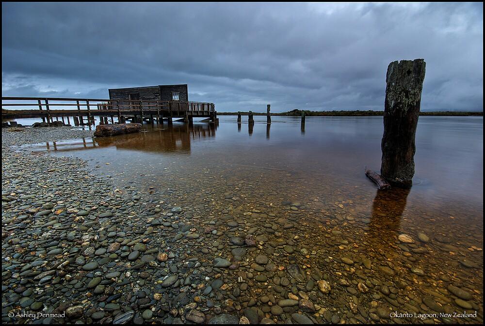 Okarito Lagoon, New Zealand by Ashley Denmead