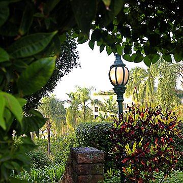 Garden light by kllebou